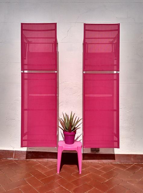 rosa Aloe Vera Trinkkur